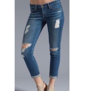 AG The Stevie Slim Straight Ankle Jeans Size 27R